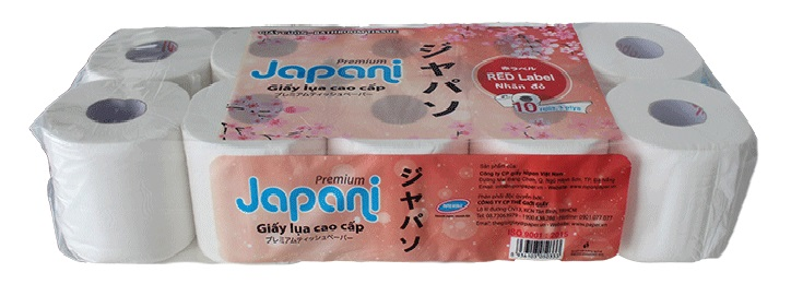 giay-ve-sinh-cuon-nho-3-lop-Japani-label-red-co-loi