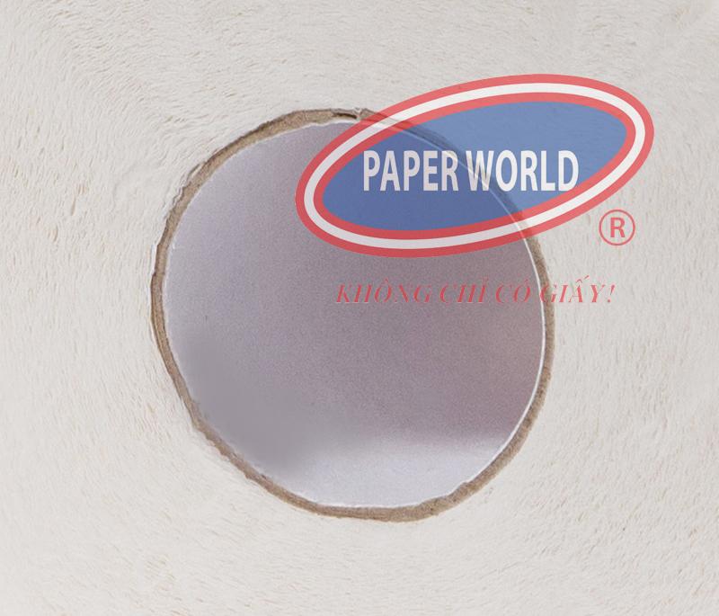 Lỏi cotton trắng của giấy vệ sinh AKĐ12 cứng cáp