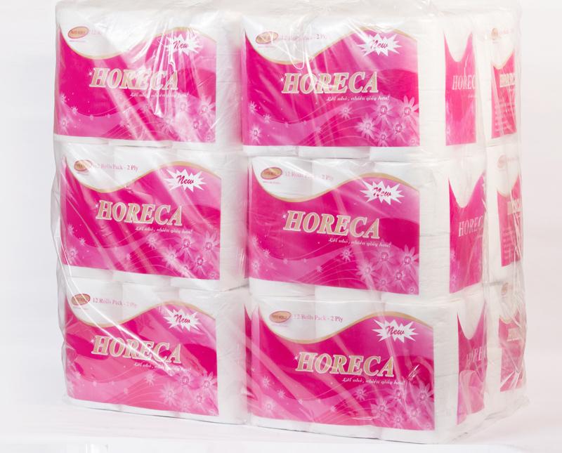 đóng gói giấy vệ sinh Horeca mới