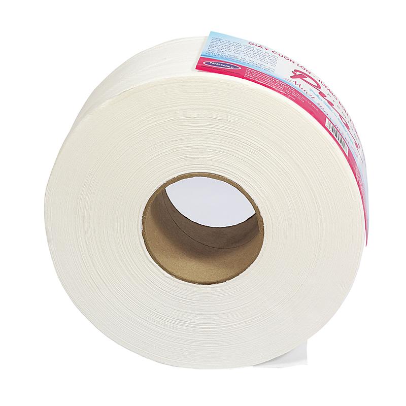 Mặt cắt giấy vệ sinh cuộn lớn pusi 900-12