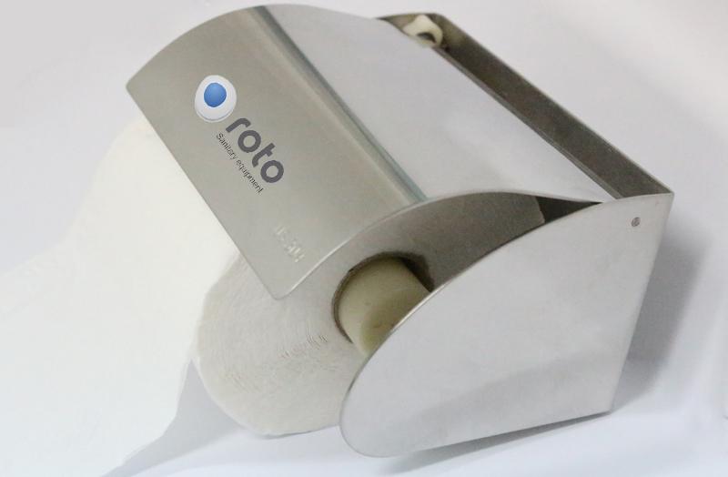 Hộp đựng giấy vệ sinh cuộn nhỏ bằng Inox