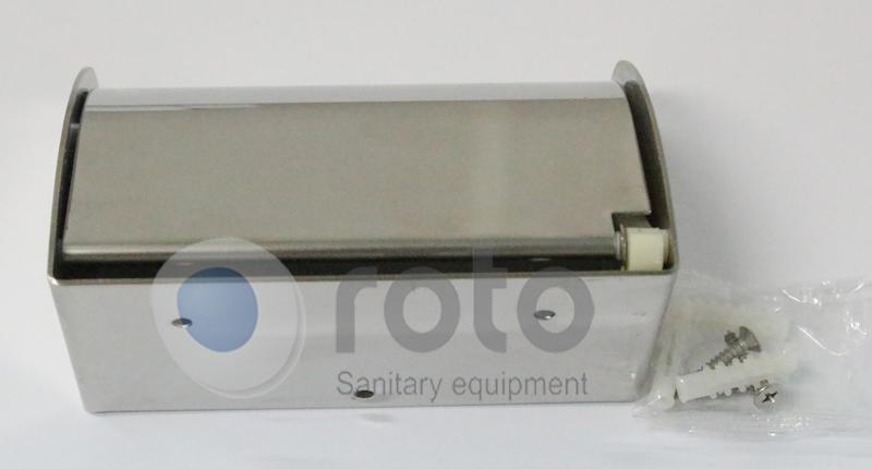 Mặt sau hộp đựng giấy RT0025 thiết kế gắn lên tường cao cấp
