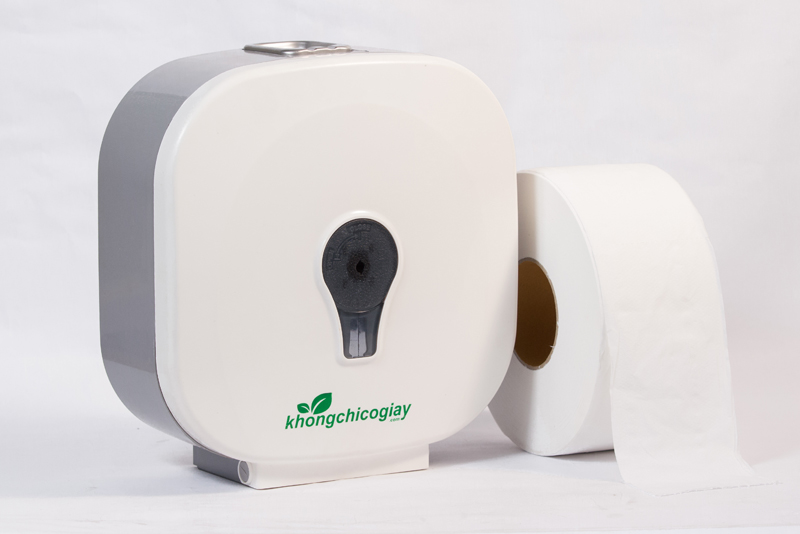 hộp đựng giấy roto Rt1300 nhựa trắng