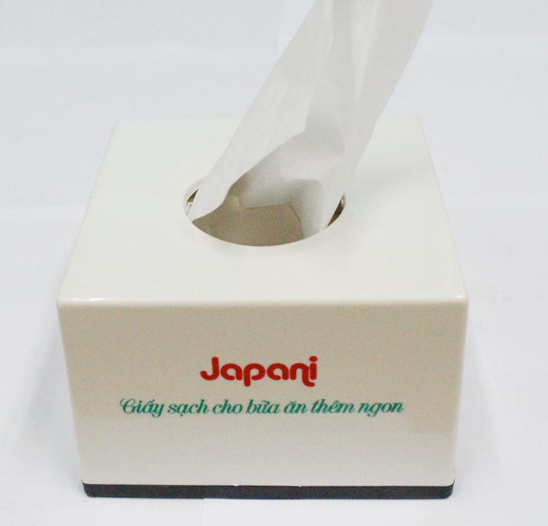 Hộp đựng khăn giấy Japani cao cấp 123