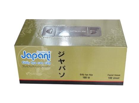 khăn giấy lụa hộp Japani 180 tờ cao cấp