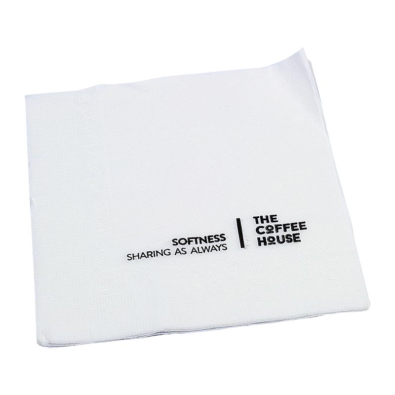 Khăn giấy in thương hiệu 12