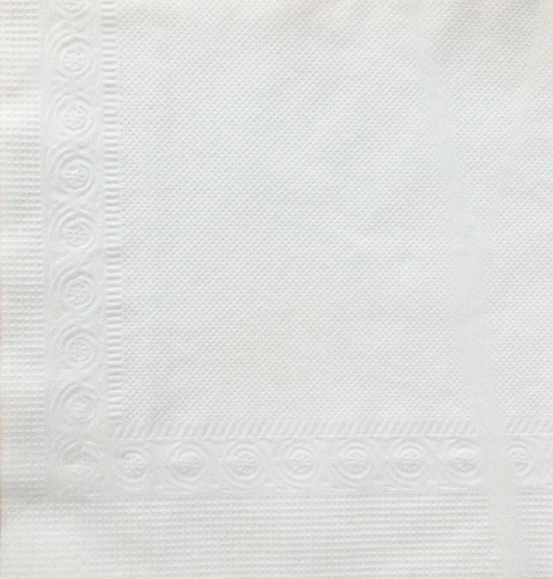 Khăn giấy lau tay napkin roto 400 với hoa văn giúp giấy xốp hơn