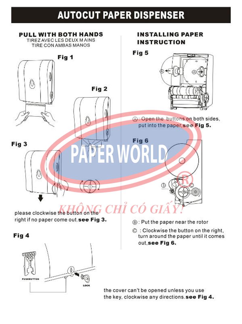 Cách sử dụng máy cắt giấy tự động đơn giản