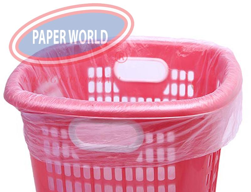Túi rác size đại thiết kế vừa vặn với thùng rác