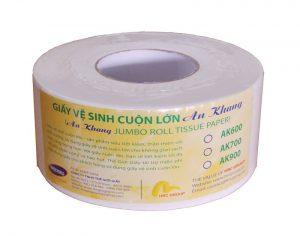 cung cấp giấy vệ sinh cuộn lớn An Khang
