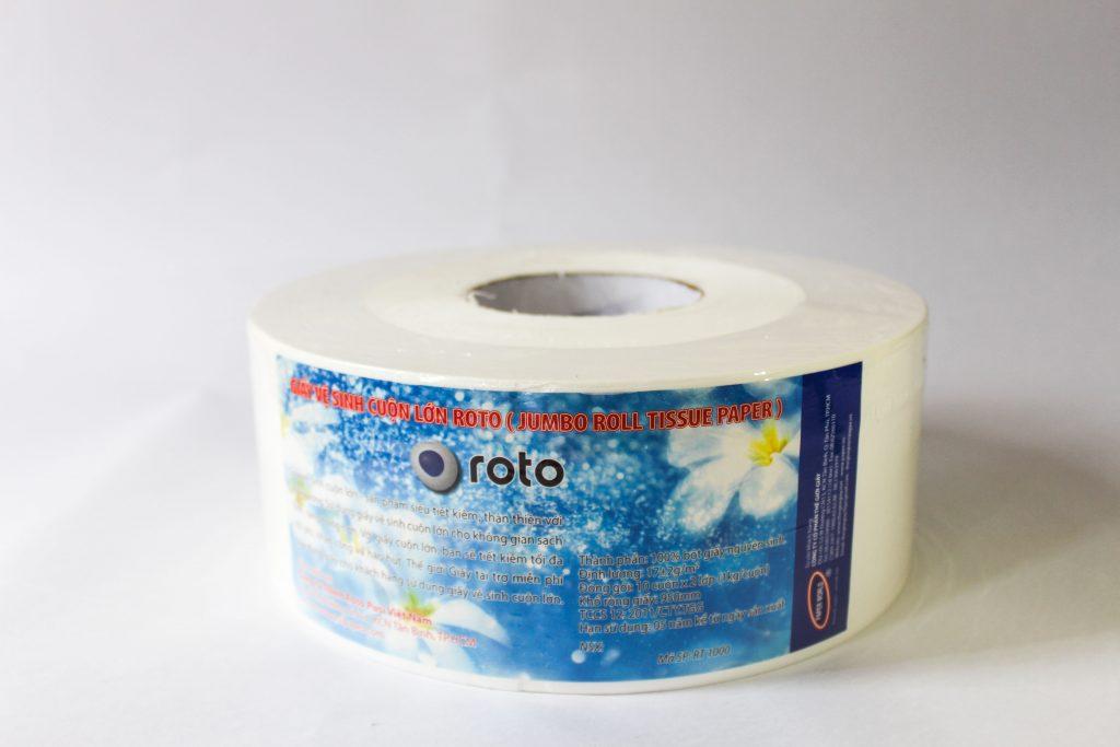Giấy vệ sinh cuộn lớn 700g tốt được sản xuất tại Thế Giới Giấy
