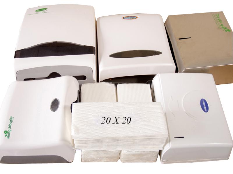 Khăn giấy thiết kế đạt chuẩn quốc tế