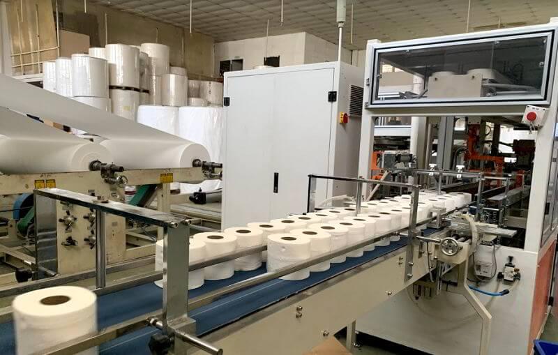 Dây chuyền sản xuất giấy cuộn đa năng tại Thế Giới Giấy