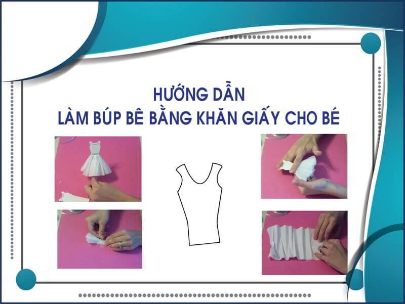 hướng dẫn làm búp bê bằng giấy vệ sinh thegioigiay.net