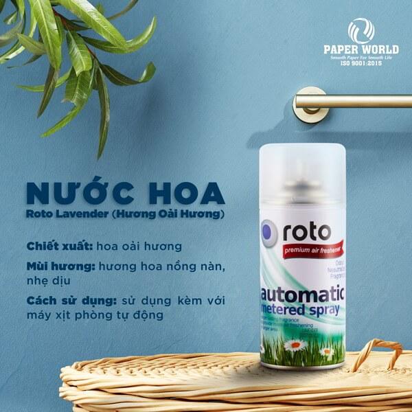 Bạn có thể thoải mái lựa chọnnhững mùi hương thích hợp và yêu thích để sử dụng.