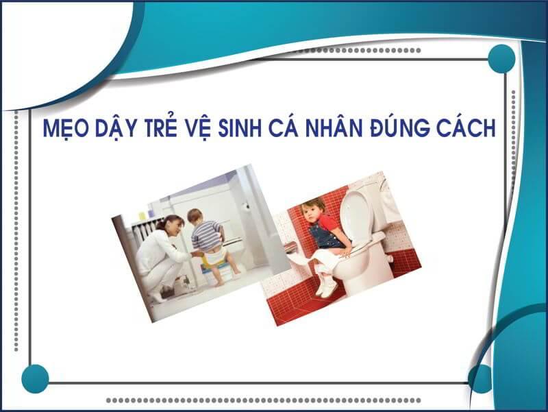 Mẹo dạy trẻ vệ sinh đúng cách thegioigiay.net