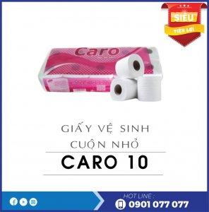 Giấy vệ sinh cuộn nhỏ Caro10-thegioigiay.net