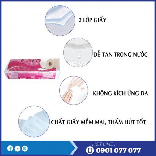 Đặc điểm giấy vệ sinh cuộn nhỏ caro10-thegioigiay.net