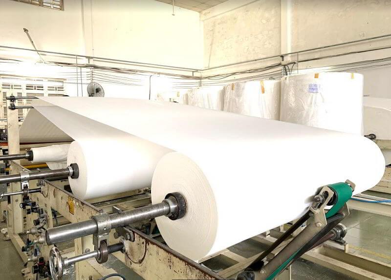 Quy trình sản xuất giấy vệ sinh cao cấp Thế Giới Giấy