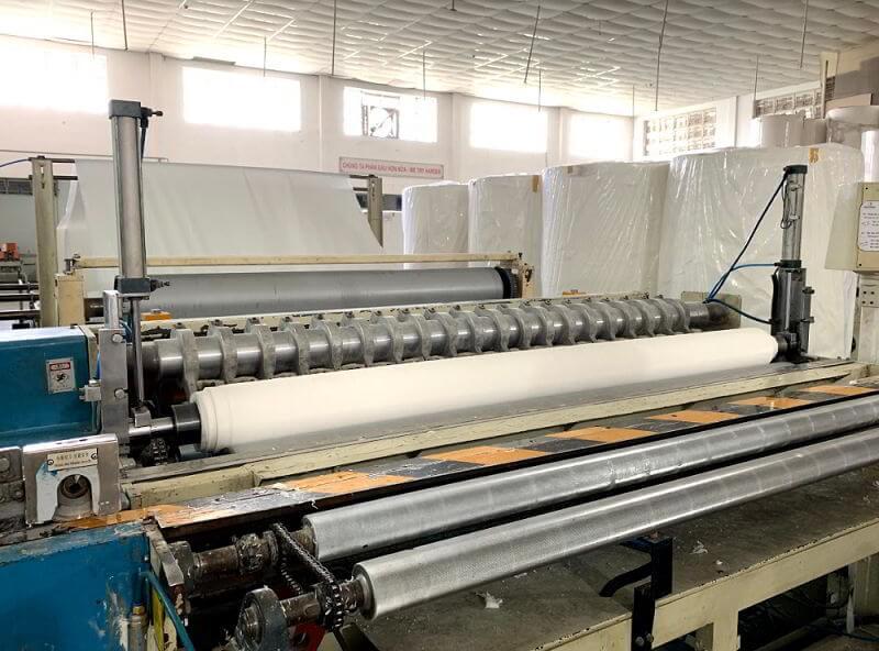 Dây chuyền sản xuất giấy vệ sinh tại Thế Giới Giấy
