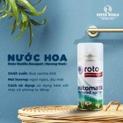 Nước hoa xịt phòng RT300 hương Vani