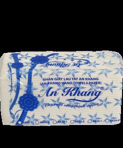Khăn giấy lau tay An Khang 22-1 lớp | AK22-1