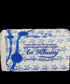 Khăn giấy lau tay An Khang 24-1 lớp | AK24-1