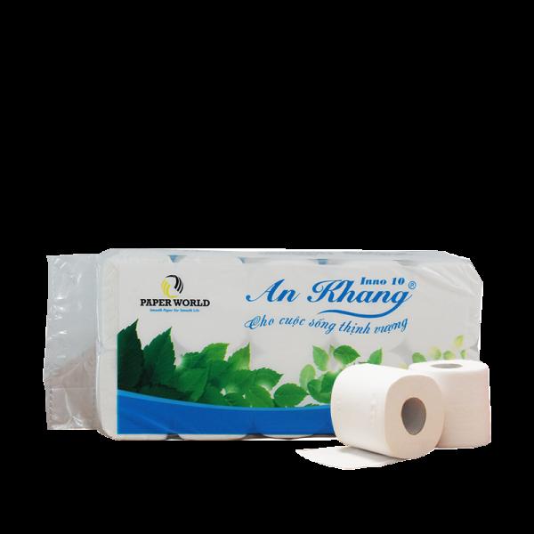 Giấy vệ sinh cuộn nhỏ An Khang Inno10 - AKI10