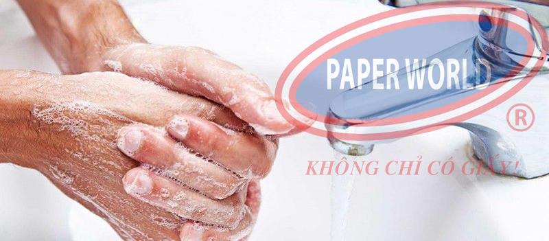 rửa tay bằng xà bông liquid cao cấp