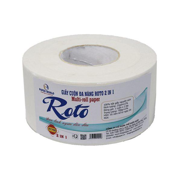 Giấy vệ sinh cuộn lớn ROTO700