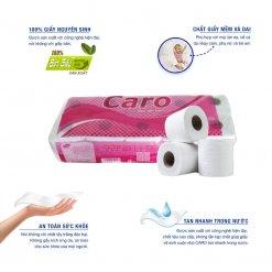 Ưu điểm của giấy vệ sinh cuộn nhỏ caro10-thegioigiay.net