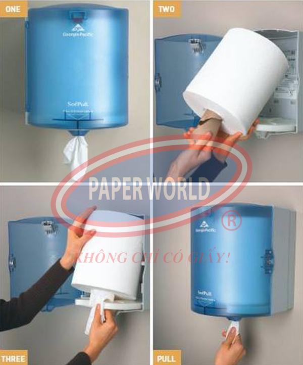 Quy trình sử dụng hộp rút giấy đa năng hiệu quả