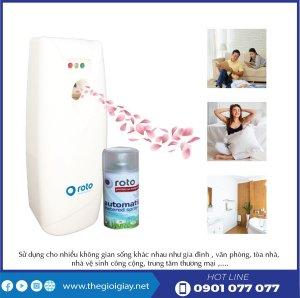 Lợi ích khi sử dụng nước hoa xịt phòng roto300-thegioigiay.net