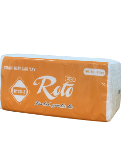 Khăn giấy lau tay Roto 20-2 lớp | RT20-2