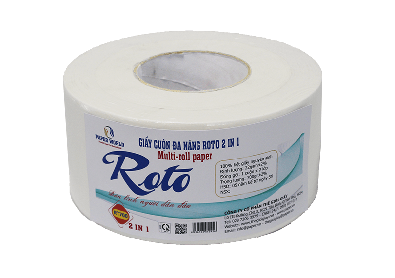 Giấy đa năng Roto700 2in1 (RT700)