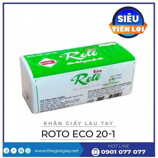 Khăn giấy lau tay roto eco20-1-thegioigiay.net