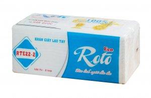khăn giấy lau tay Roto22 - 2 lớp (RT22-2)