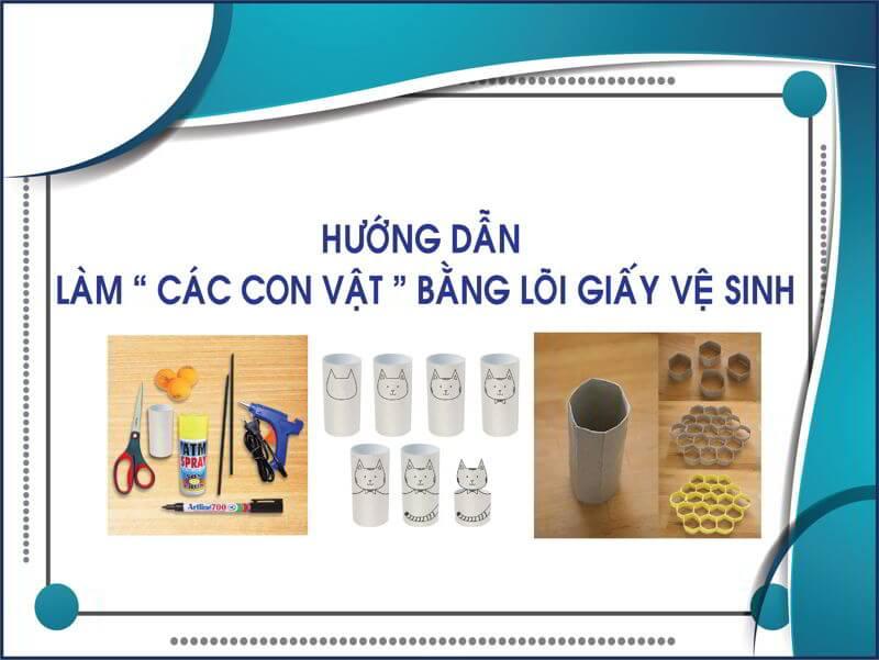 Hướng dẫn làm các con vật bằng giấy vệ sinh thegioigiay.net