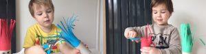 Cách chơi cắt tóc cho bé