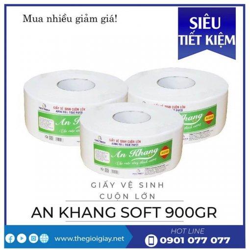 Giấy cuộn lớn An Khang Soft900-thegioigiay.net