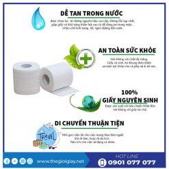 Ưu điểm của giấy vệ sinh cuộn nhỏ An Khang Soft10-thegioigiay.net
