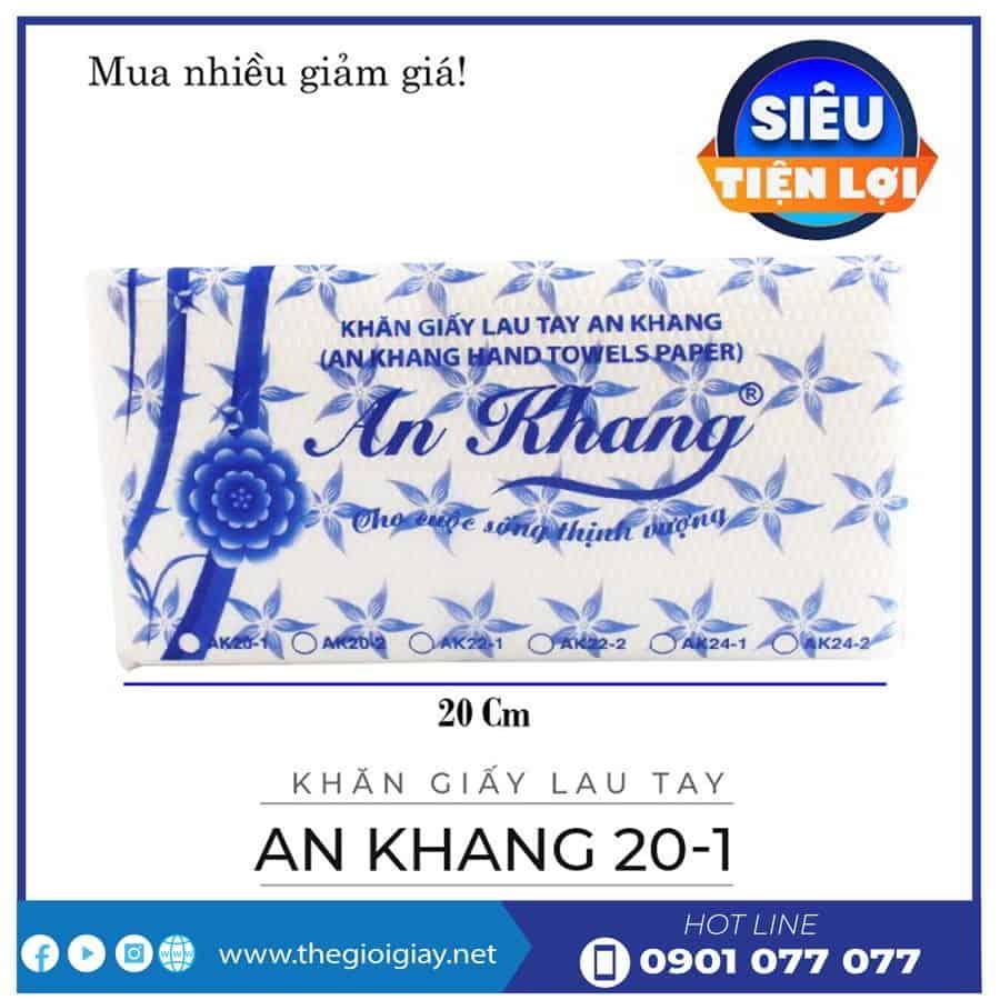 Khăn giấy lau tay An Khang 20-1-thegioigiay.net