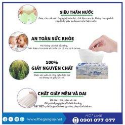 Ưu điểm của khăn giấy lau tay an khang 22-1-thegioigiay.net