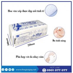 Đặc điểm của khăn giấy lau tay An Khang 22-1-thegioigiay.net