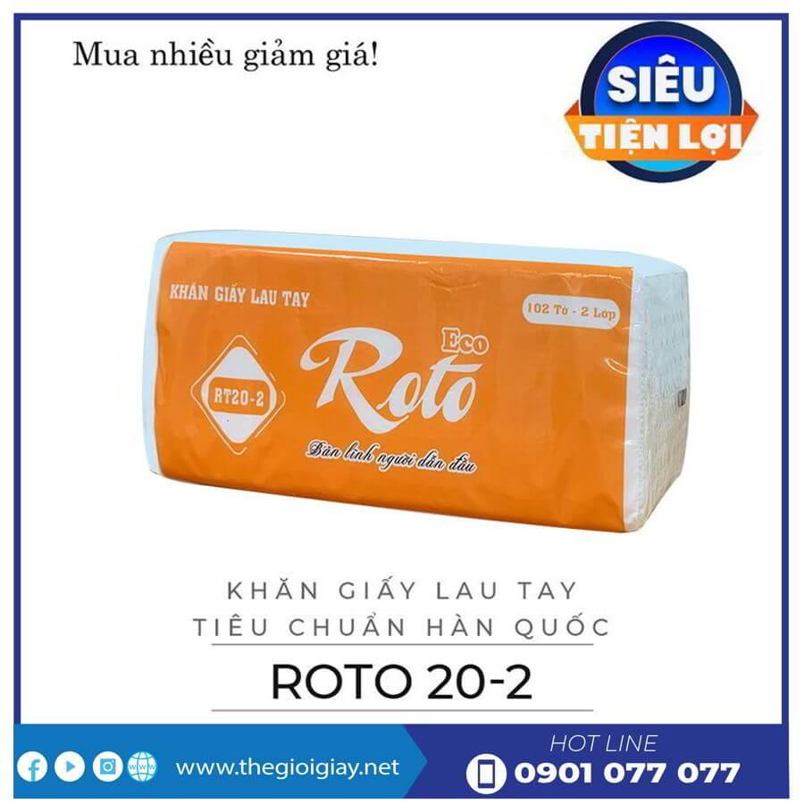 Khăn giấy lau tay roto20-2-thegioigiay.net