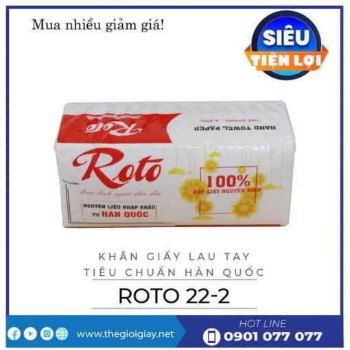 Khăn giấy lau tay roto22-2-thegioigiay.net