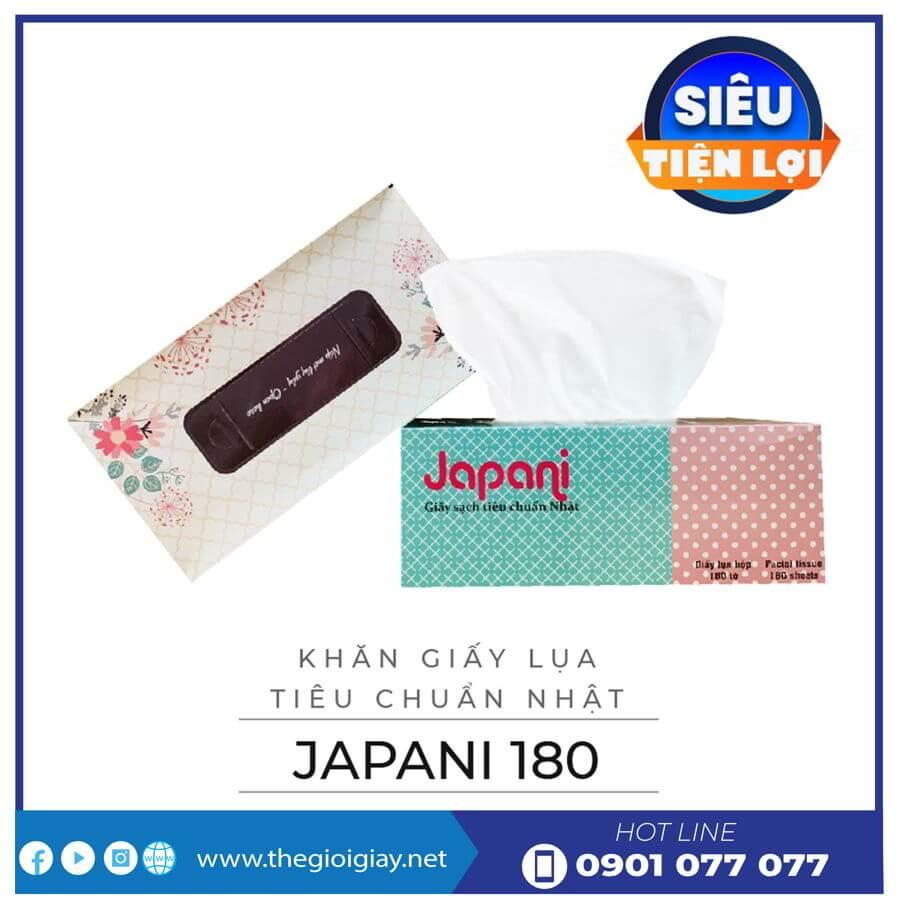 Khăn giấy lụa hộp cao cấp japani thegioigiay.net