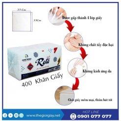 Đặc điểm của khăn giấy napkin roto soft400-thegioigiay.net