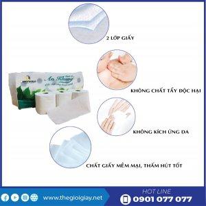Đặc điểm của giấy vệ sinh cuộn nhỏ An Khang Classic10-thegioigiay.net