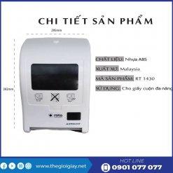 Chi tiết sản phẩm máy cất giấy tự động roto1430-thegioigiay.net